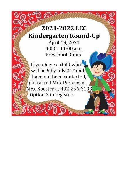 Lcc Calendar 2022.Laurel Concord Coleridge Public School 2021 2022 Kindergarten Round Up